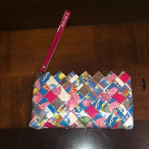 Handbags - Fluffy Stuff Cotton Candy Wristlet